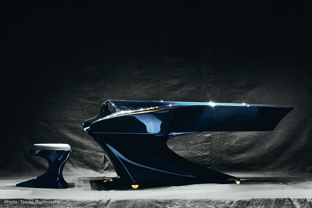 A beautiful Boganyi Piano